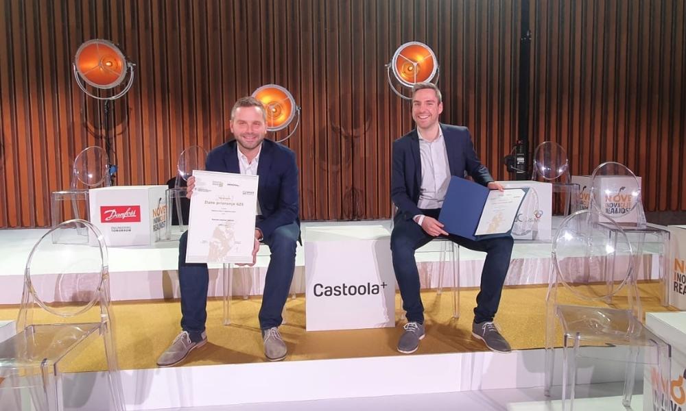 Castoola - zlata nagrada za inovativnost